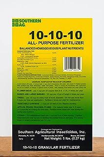 کود طبیعی گرانول Ag Ag 10 Purpose 10-10-10، 5 LB