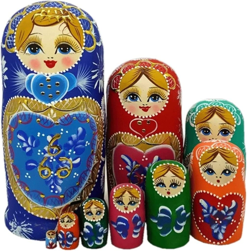 Teri High quality new Matryoshka 10-Layer Chinese Al sold out. Style Creative Gift