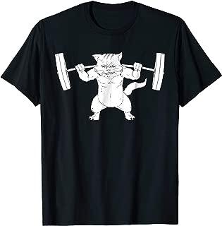 Cat Squat Powerlifting T-Shirt
