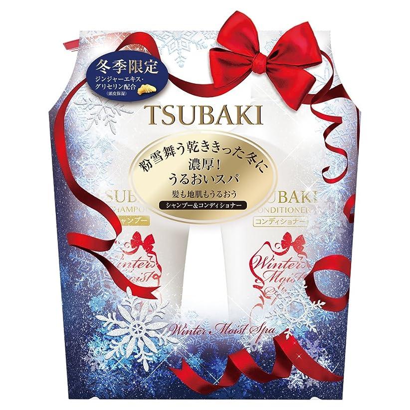 キュービック達成気難しい【セット品】TSUBAKI ウインターモイスト シャンプー&コンディショナー 500ml+500ml