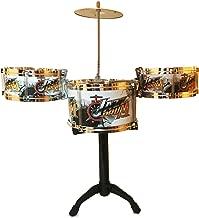 LilPals' Child Prodigy Jazz Drum Set – Features Stand, 3 Drums, Cymbal & Drum Sticks