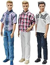 1 Set Doll Clothes Suit For Ken Handmade Coat Pants US// For Dolls X2T5