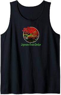 Japanese Art Rock Garden Tank Top