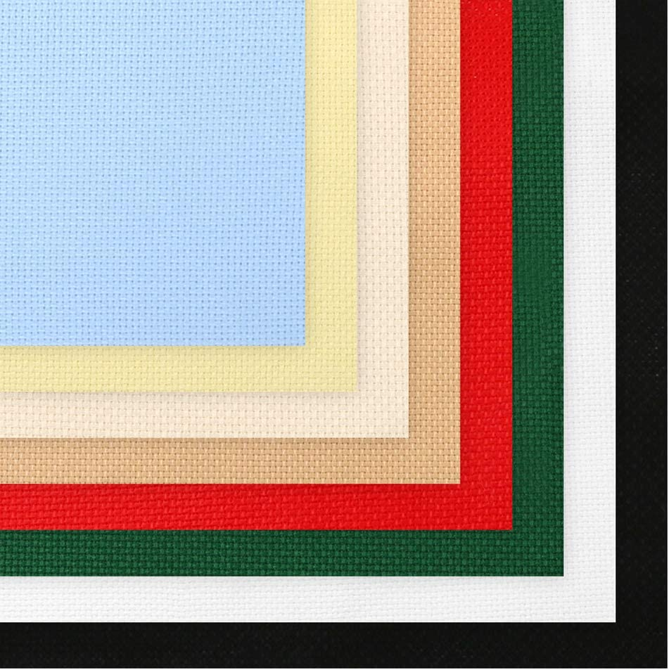 free shipping reduced 12X18 Cross stitch fabric 14 Ct Aida Cloth
