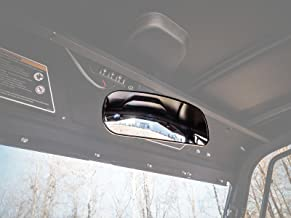 SuperATV Heavy Duty Fully Adjustable Rear View Mirror For Can-Am Defender HD 5/8 / 10 / DPS/XT/Cab/XMR/MAX/XTP