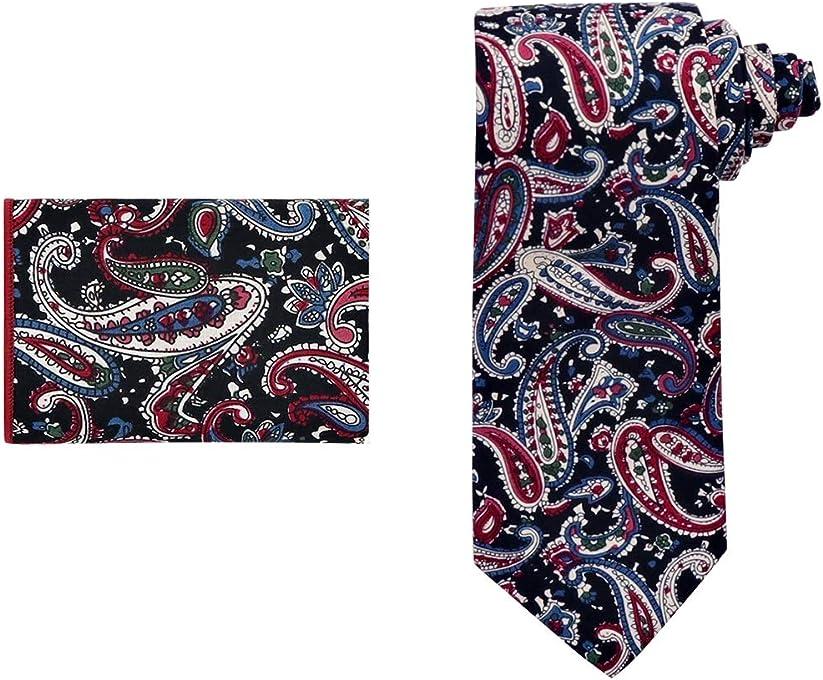 Dan Smith Men's Fashion Cotton Necktie Avaliable for Daily Dress