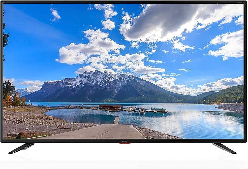 Sharp tv 4k ultra hd smart led tv, harman/kardon, hdr, triple tune LC-65UI7552E