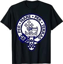 Macdonald Family Clan Name Crest Shield T-Shirt