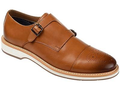 Thomas & Vine Ransom Cap Toe Monk Strap Dress Shoe