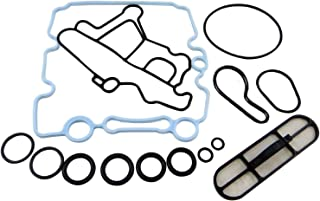 Engine Oil Cooler Gasket Kit Fit For 2003 - 2007 Ford 6.0 Powerstroke Diesel F250 F350 F450 (Replaces 3C3Z-9N693-A, 3C3Z9N693A)