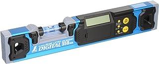 シンワ測定(Shinwa Sokutei) ブルーレベル水平器 デジタル 350mm マグネット付き 76344