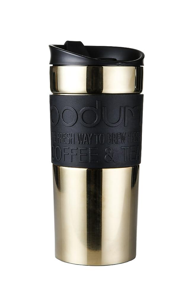 植物のアイザックびっくり【正規品】Bodum (ボダム) TRAVEL MUG 11068-17S ゴールド 350ml