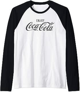 Coca Cola, Coca Cola Enjoy Raglan Baseball Tee