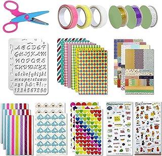 YeenGreen Scrapbooking Kit, Accessoires Scrapbooking Kit 50 Pièces, Accessoires Album Photo, Scrapbooking Accessoires pour...