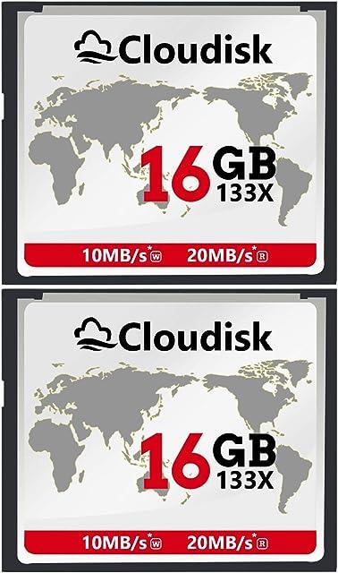 2pcs 16 GB Rendimiento De La Tarjeta De Memoria Compact Flash De 16 GB CF Para Cámara Digital Vintage