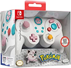 PDP Gaming Pokemon Jiggly Puff GameCube Wired Fight Pad Pro Controlador: Jiggly Puff - Nintendo Switch
