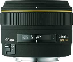 Sigma 30mm f/1.4 EX DC Lens for Minolta and Sony Digital SLR Cameras