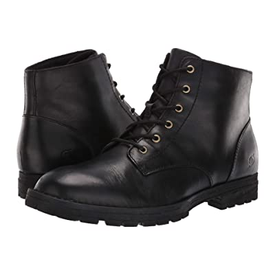 Born Hollis (Black Full Grain Leather) Men