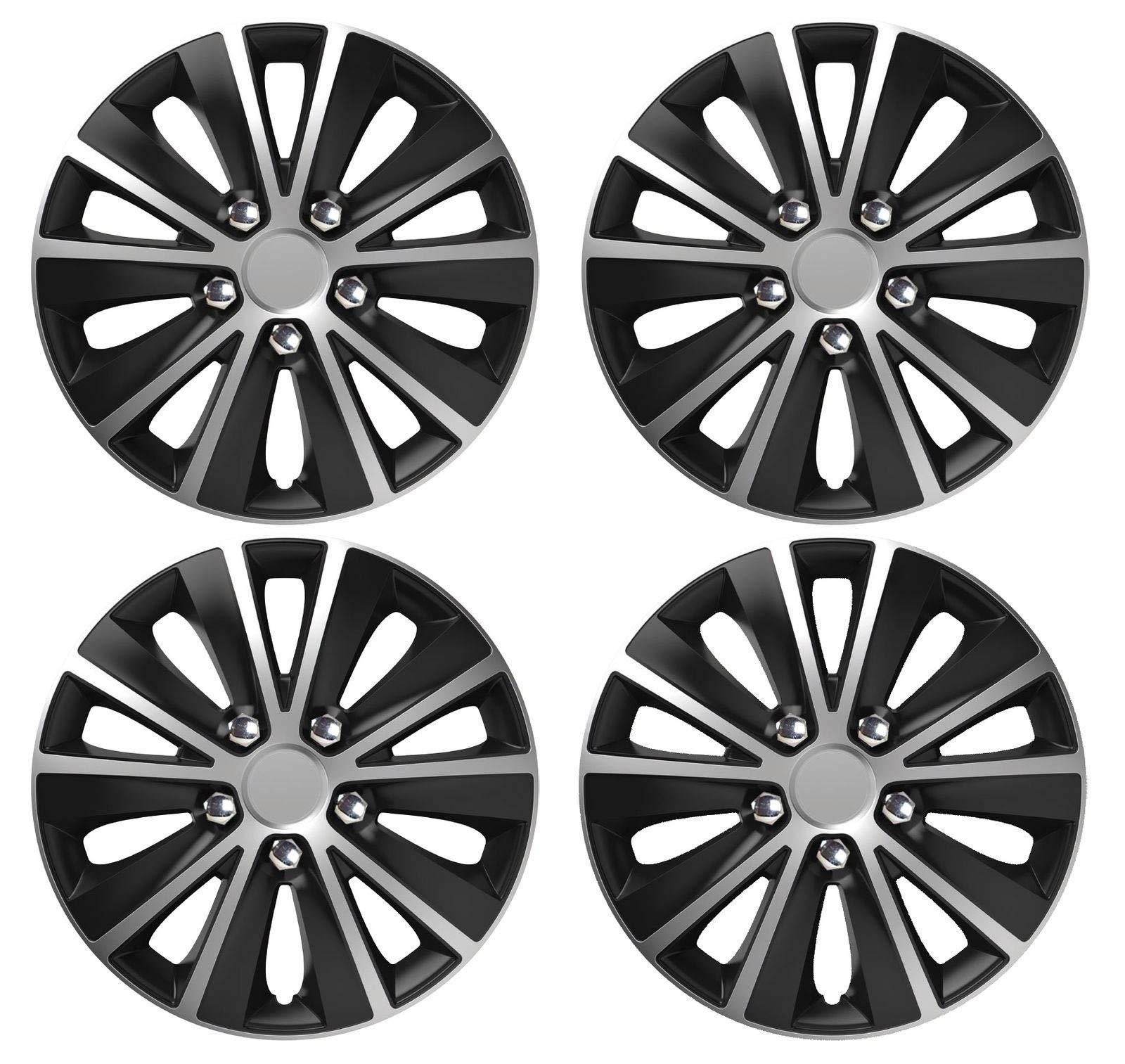 UKB4C Set of 4 Trims//Hub Caps 13 Covers fits Vauxhall Corsa Tigra Agila