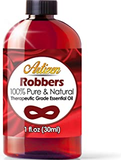 Artizen Robbers Essential Oil (100% Pure & Natural - UNDILUTED) Therapeutic Grade - Huge 1oz Bottle -Blended W/Cinnamon, Clove, Eucalyptus, Lemon & Rosemary