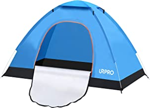URPRO Instant Automatic pop up Camping Tent, 2 Person...