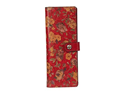 Patricia Nash Marotta Card Holder (Rosso Fiore) Wallet