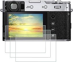 محافظ صفحه نمایش LCD PCTC Tempered Glass سازگار برای جلد فیلم محافظ Fujifilm X100V X-T4 Fuji X100V XT4