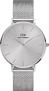 Daniel Wellington Petite Unitone Silver Mesh Strap Silver Dial Watch