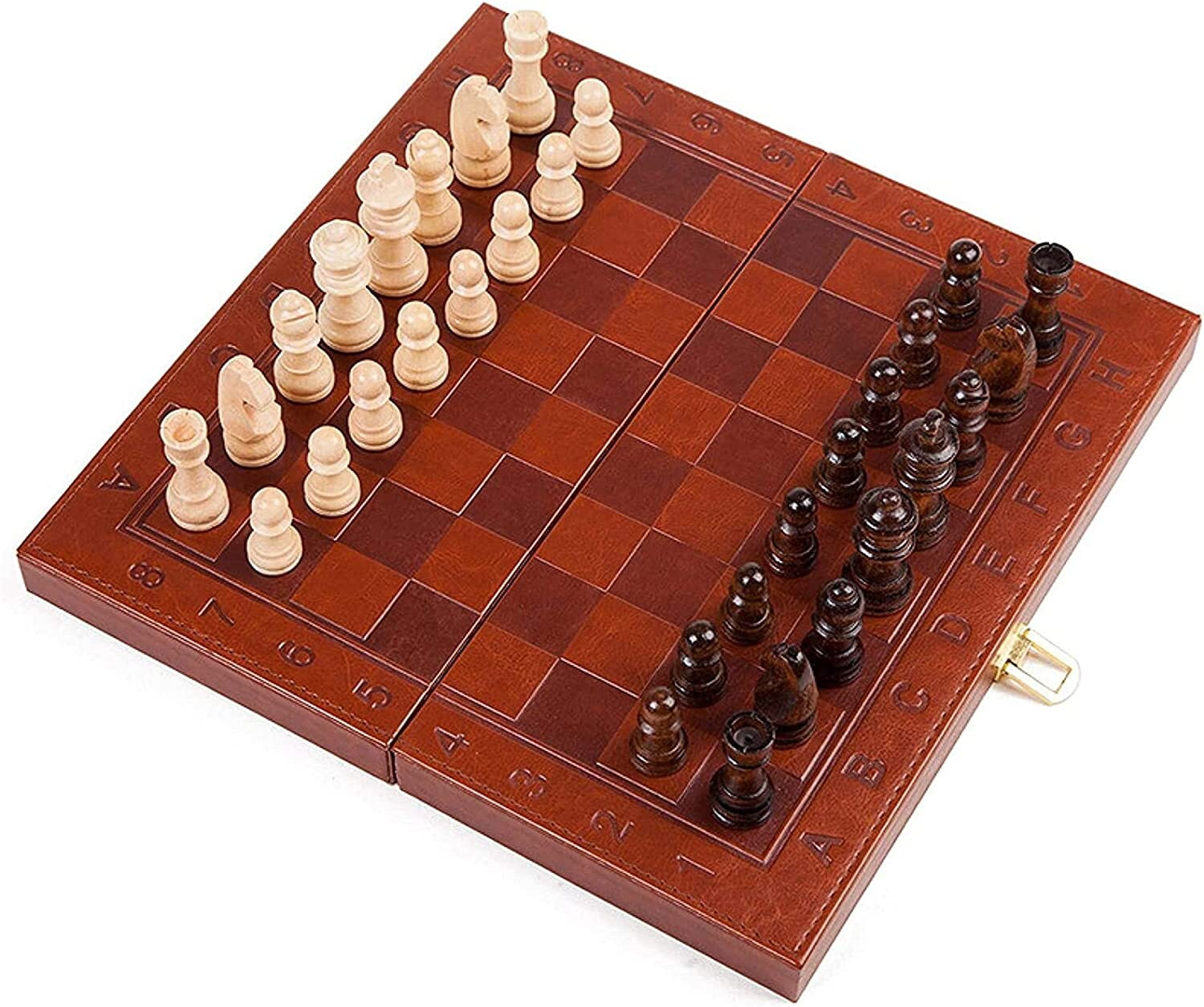 MTCWD Chess Board Set Game online shop Magnetic Portab 4 years warranty
