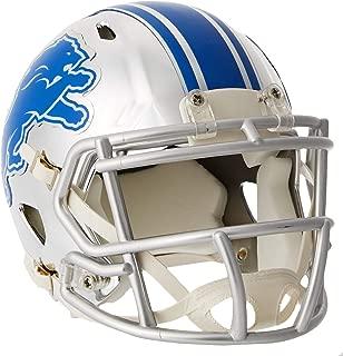 Riddell Speed NFL DETROIT LIONS Football Helmet Chrome Mini
