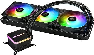 Enermax Liqmax III 360 - Triple Fan aRGB - Dual Chamber AIO CPU Liquid Cooler - Intel/AMD AM4 Support - 300W+ TDP Cooling; ELC-LMT360-ARGB