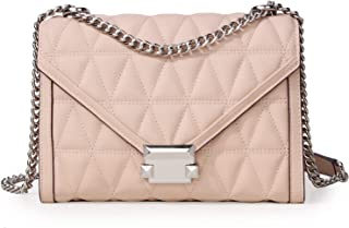 Women's Leather Crossbody Bag Casual Plaid Shoulder Bag Fashion Tote Bag