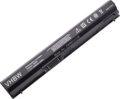 vhbw Li-Ion Akku 2200mAh  11 1V  f r Notebook Laptop Dell Latitude E6120  E6220  E6230  E6320  E6320 XFR  E6330 wie 9GXD5  0F7W7V