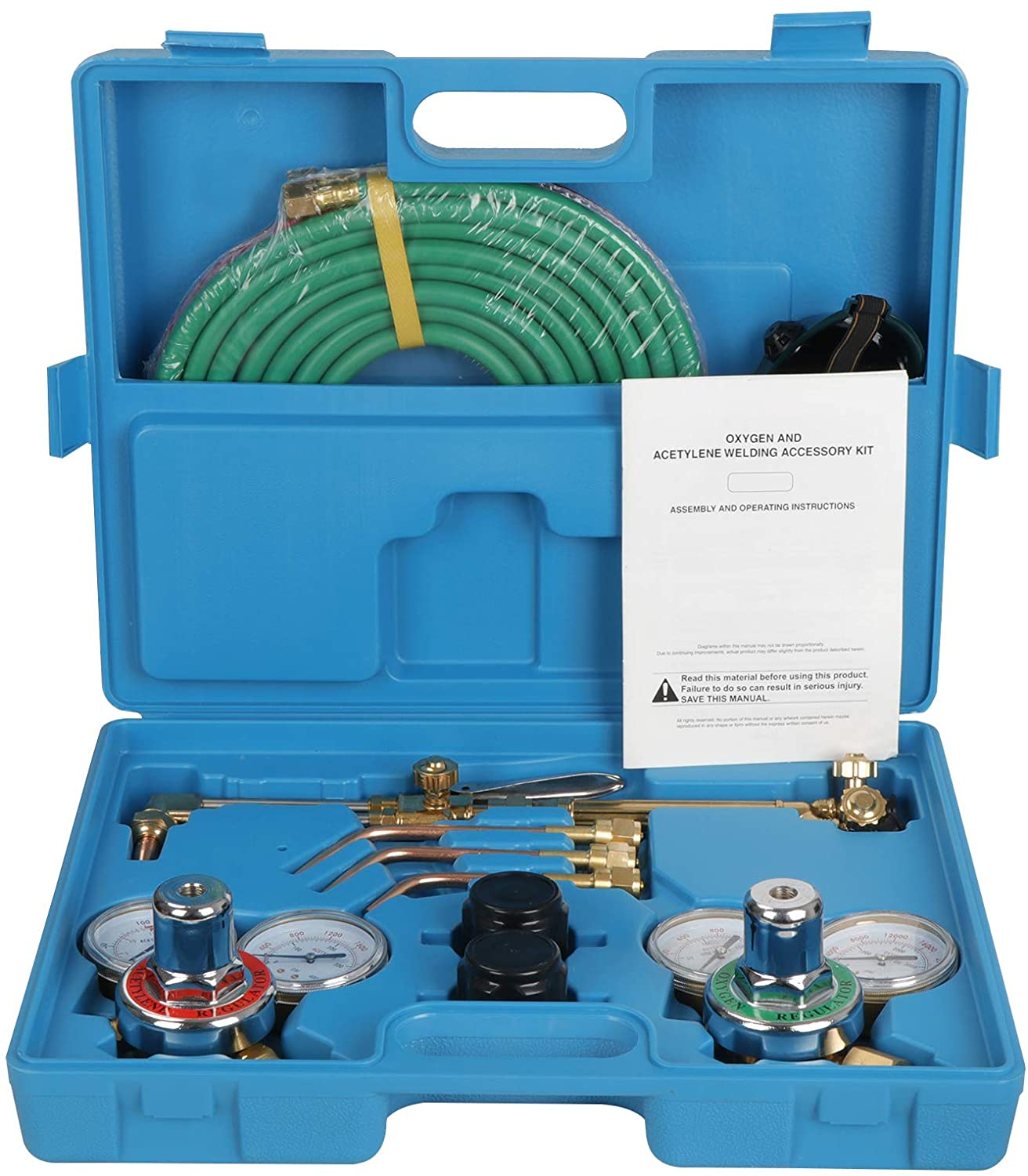 ZENY NEW Portable Gas Welding Cutting Outlet sale feature Sales of SALE items from new works Hose Acet Torch w Oxy Kit
