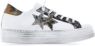 2STAR Luxury Fashion Womens 2SD2431 White Sneakers | Fall Winter 19
