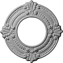 Ekena Millwork CM09BN Ceiling Medallion, Primed