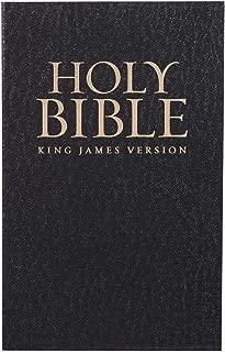 Holy Bible: KJV Thinline Soft Cover Edition: Black