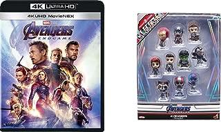 【Amazon.co.jp限定】アベンジャーズ/エンドゲーム 4K UHD MovieNEX [4K ULTRA HD+3D+ブルーレイ+デジタルコピー+MovieNEXワールド](オリジナルミニコスベイビー10体セット付き) [Blu-ray]