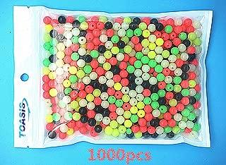 Toasis 1000pcs Colorful Luminous Glow Fishing Beads