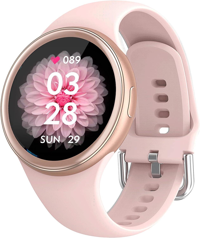 2021 Fashion お見舞い Smart Watch for 奉呈 Tracker Fitness Teenagers Women wit