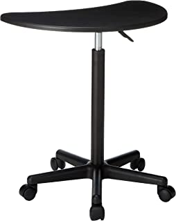 Flash Furniture Black Sit to Stand Mobile Laptop Computer Desk