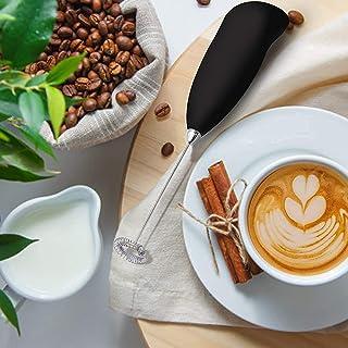 JENICO WORLD Mini Coffee Milk Egg Beater Electric Foam Hand Blender Mixer Classic Sleek Design Froth Whisker Latte Maker f...