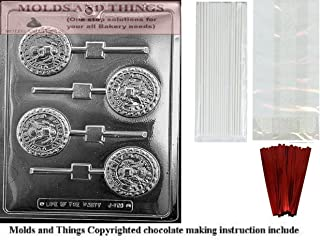 AIR FORCE POP Chocolate Candy Mold With Candy Making Instruction + 25 packaging Kit