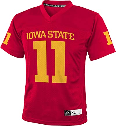 adidas NCAA Iowa State Cyclones   11 Youth Boys Fashion Football Jersey 5293ca426de5