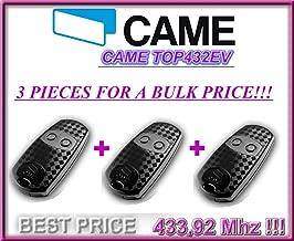 3 X CAME TOP432EV remote contols. original 2-channel Came Top 432EV remote controls. Fixed code, frequency 433,92 MHz. 3 PIECES!!!