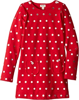 Holiday Dots Mod Dress (Toddler/Little Kids/Big Kids)