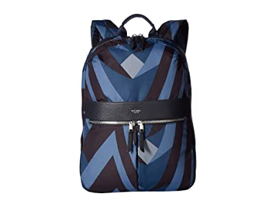 KNOMO London VA Beauchamp Backpack (Dark Navy) Backpack Bags