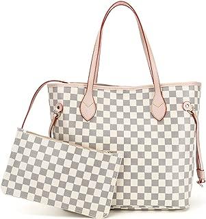 Womens Tote Bags Soft Leather Large Capacity Shoulder Bags Work Laptop for Ladies Handbags Designer Purses Set