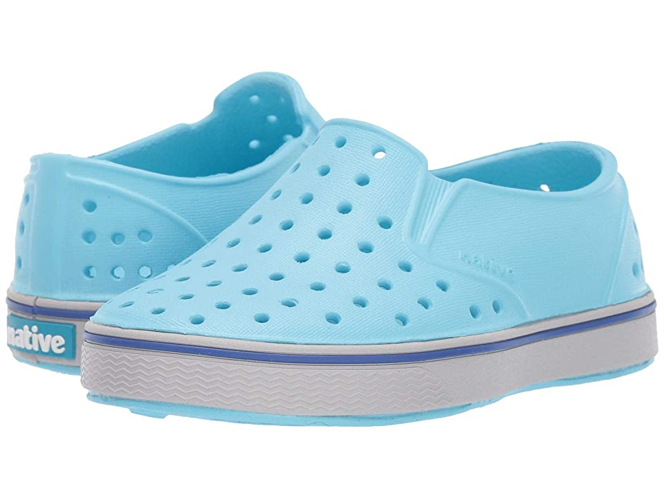 Native Kids Shoes Miles Slip-On (Toddler/Little Kid) (Hamachi Blue/Mist Grey) Kids Shoes