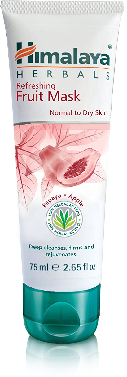 そんなに掘る食物Himalaya Herbal Refreshing Fruit Pack 100GM